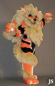 Arcanine from Pokemon worn by furtech