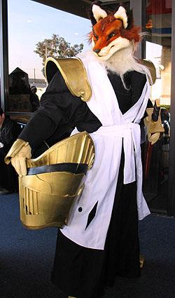 Sajin Komamura from Bleach worn by furtech
