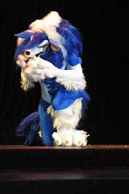 Jon Talbain / Gallon from Darkstalkers worn by furtech