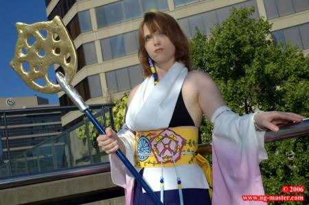 Yuna from Final Fantasy X worn by Kuroki