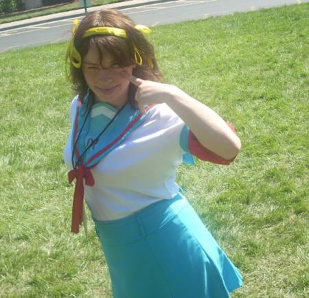 Haruhi Suzumiya from Melancholy of Haruhi Suzumiya worn by Zipchan