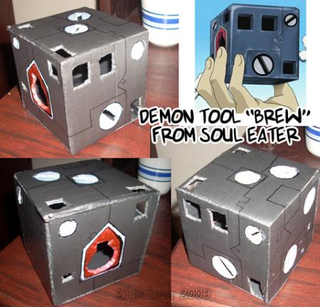 Demon Tool BREW from Soul Eater worn by Zipchan