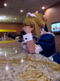 Saber Maid from Carnival Phantasm  by Zip