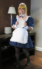Saber Maid from Carnival Phantasm