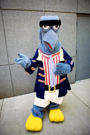 Sam The American Eagle from Muppet Show, The