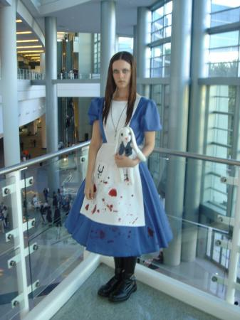 Alice from American McGee's Alice worn by Ms. Narusegawa