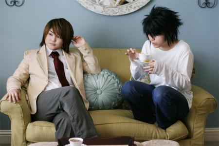 L / Ryuuzaki from Death Note worn by TK the Tiger