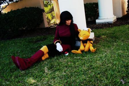 Sabrina from Pokemon worn by TK the Tiger