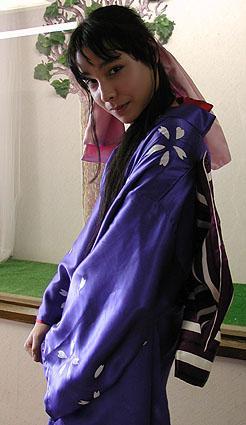 Kaoru Kamiya from Rurouni Kenshin worn by Mistress Mel