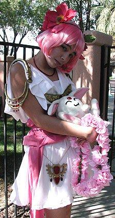 Hikaru Shidou from Magic Knight Rayearth worn by Mistress Mel
