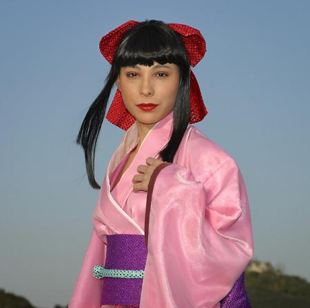 Sakura Shinguji from Sakura Wars Musicals worn by Mistress Mel