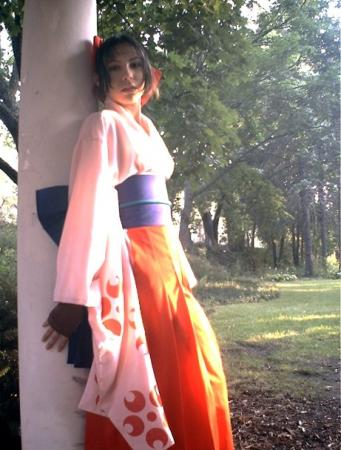 Sakura Shinguji from Sakura Wars worn by Mistress Mel