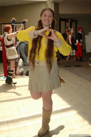 Natsuki / Bouken Yellow from GoGo Sentai Boukenger