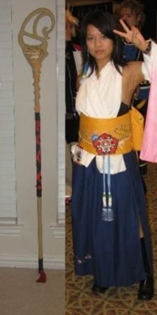 Yuna from Final Fantasy X worn by Ivi