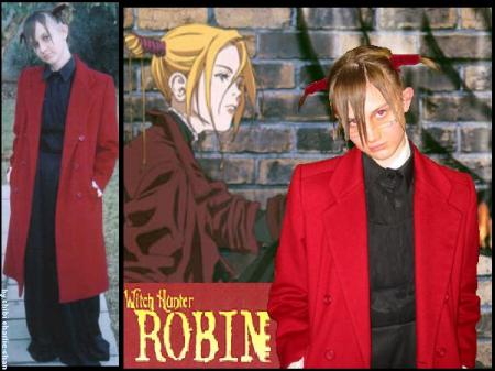 Robin Sena from Witch Hunter Robin