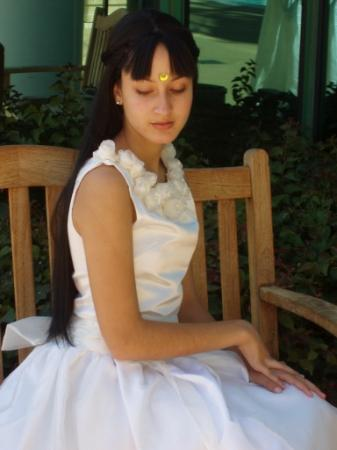 Princess Serenity from Pretty Guardian Sailor Moon worn by Candelaria