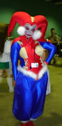 Harlequin from Chrono Cross worn by Little Heaven