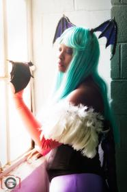 Morrigan Aensland from Darkstalkers worn by Little Heaven