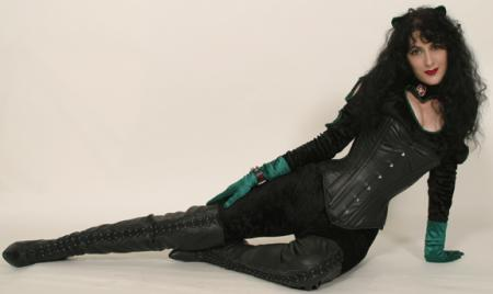 Catwoman from Batman worn by Aleta
