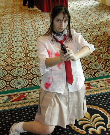 Hirono Shimizu from Battle Royale worn by Anna-neko