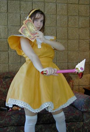 Sakura Kinomoto from Card Captor Sakura worn by Anna-neko