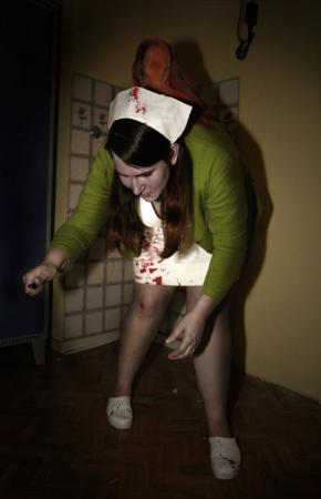 Puppet Nurse from Silent Hill worn by Alessa