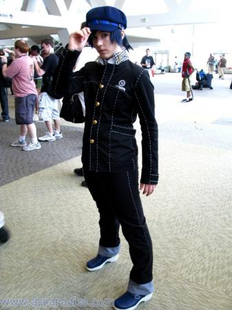 Naoto Shirogane from Persona 4 (Worn by blue)