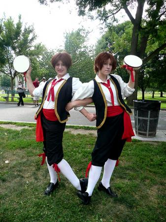 Italy (Romano) / Lovino Vargas from Axis Powers Hetalia (Worn by blue)