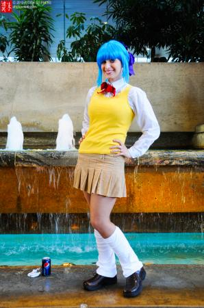 Kurumu Kurono from Rosario + Vampire 