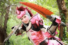 Pink Rathian from Monster Hunter