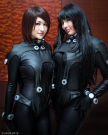 Shimohira Reika from Gantz 