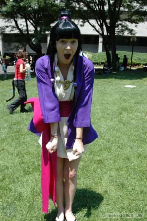 Maya Fey from Phoenix Wright: Ace Attorney worn by Toastersix