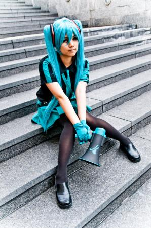 Hatsune Miku from Vocaloid 2 worn by Sapharia