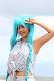 Hatsune Miku from Vocaloid 2 worn by  candiie☆wish