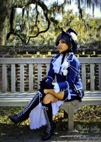 Ciel Phantomhive from Black Butler worn by candiie?wish