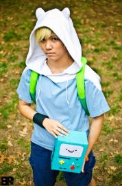 Finn from Adventure Time with Finn & Jake worn by Sapharia