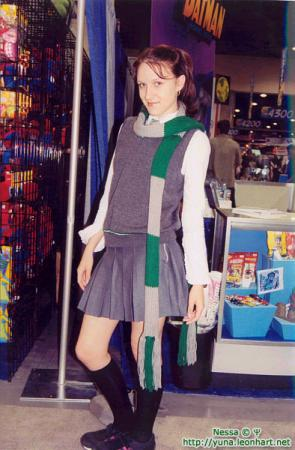 Slytherin Student from Harry Potter worn by Nessa