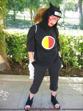 Kankuro from Naruto worn by Nessa