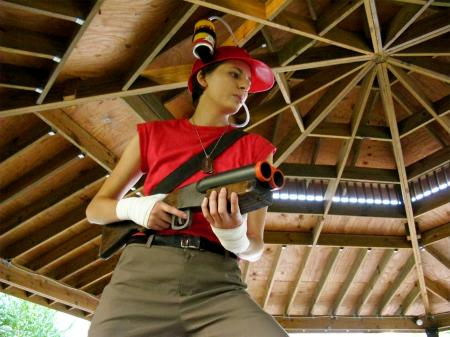 Scout from Team Fortress 2 worn by WoggyWooWoo