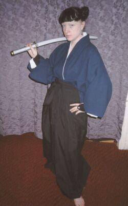 Kenshin Himura from Rurouni Kenshin