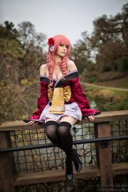 Megurine Luka from Hatsune Miku -Project DIVA  2nd worn by daydreamernessa