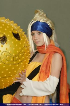Rikku from Kingdom Hearts 2 worn by KittyCupCake