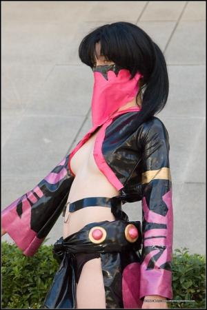 Mileena from Mortal Kombat worn by KittyCupCake