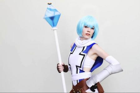Rei Ayanami from Evangelion 2.22