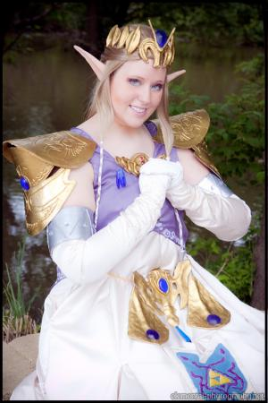 Princess Zelda from Legend of Zelda: Twilight Princess worn by Usagi-Sern