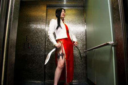 Shenhua from Black Lagoon worn by Imari Yumiki