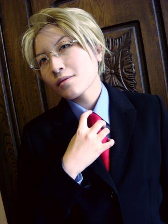 Katsuya Saeki from Kichiku Megane worn by Imari Yumiki
