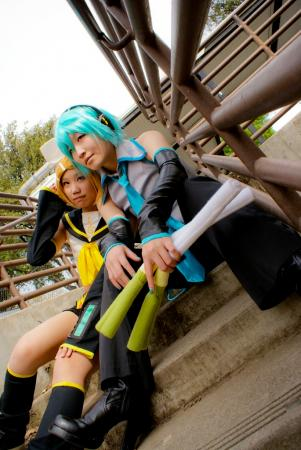 Hatsune Mikuo from Vocaloid 2 worn by Imari Yumiki