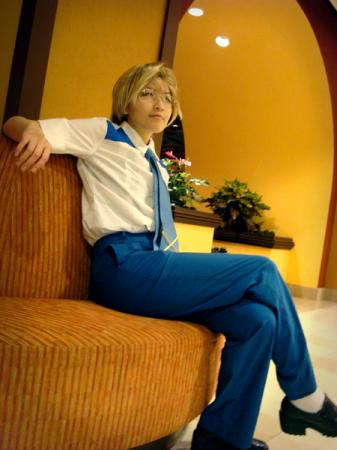 Mikhail (Michael/Michel) Blanc from Macross Frontier worn by Imari Yumiki