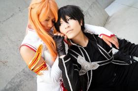 Kirito from Sword Art Online worn by Imari Yumiki